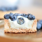 Mojito Tart with blueberry